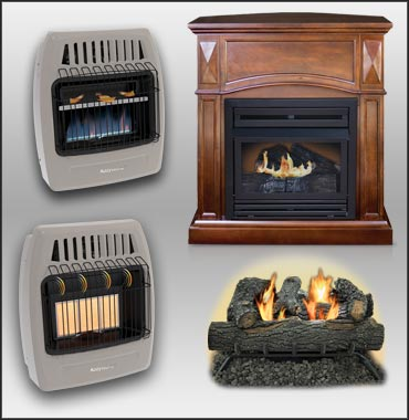 Vent Free Gas Heater Support