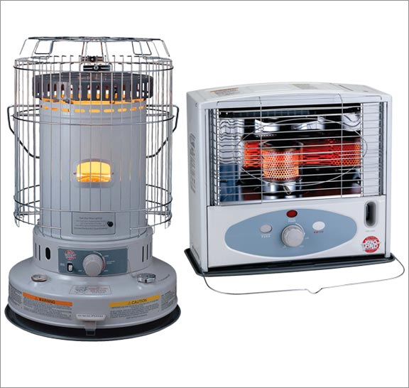 Indoor kerosene heaters. Click here for kerosene heaters