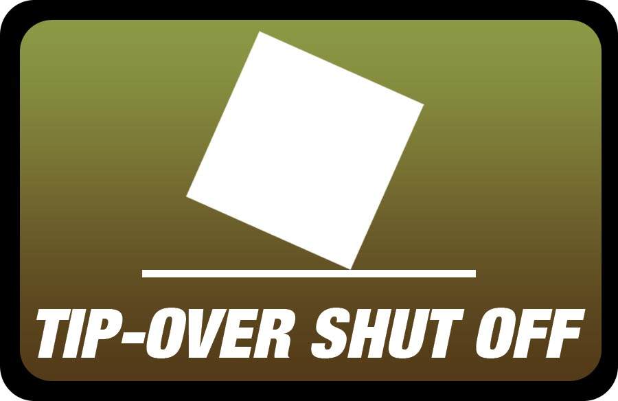 Tip Over Shut Off