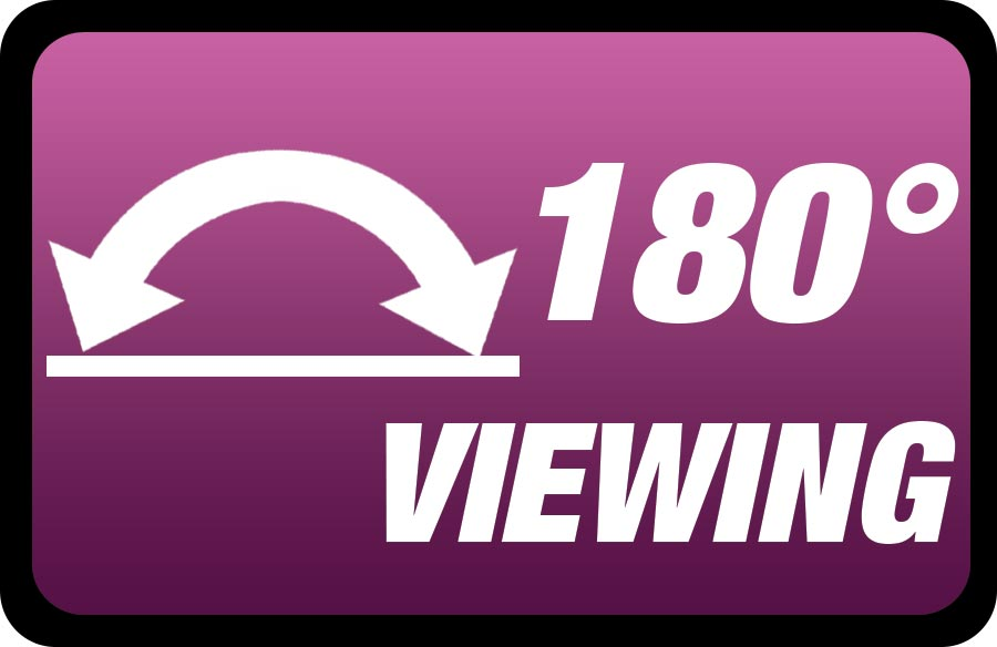 180° Viewing
